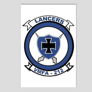 VMFA 212 Lancers Postcards (Package of 8)