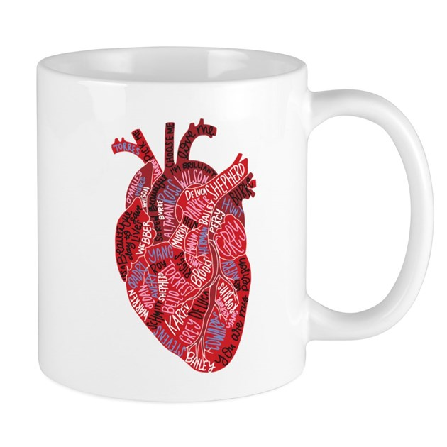 Grey\'s Anatomy Heart Small Mug by GreysAnatomy8