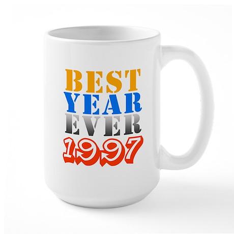 Best Year Ever 1997 Large Mug