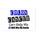 Colon Cancer Can't Bully Me Postcards (Package of