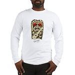 Ukulele Playing Tiki Long Sleeve T-Shirt