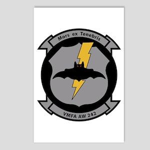 VMFA 242 Bats Postcards (Package of 8)