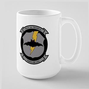 VMFA 242 Bats Large Mug