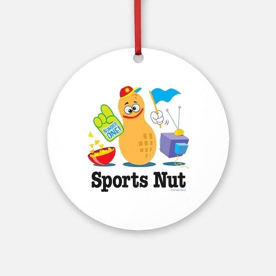 Sports Nut Keepsake (Round)