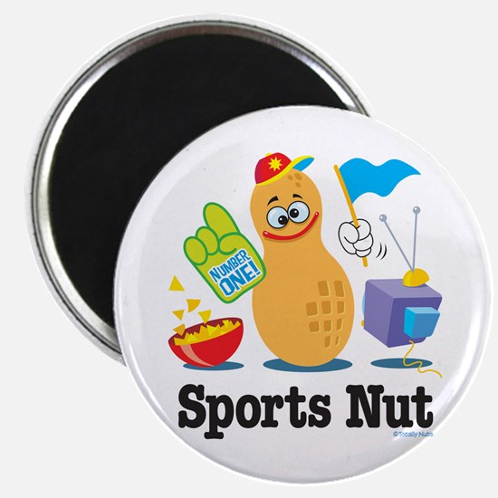 Sports Nut Magnet