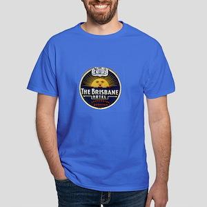 Brisbane Vintage Poster Art Dark T-Shirt