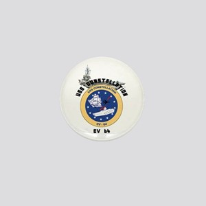 USS Constellation CV-64 Mini Button