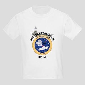 USS Constellation CV-64 Kids Light T-Shirt