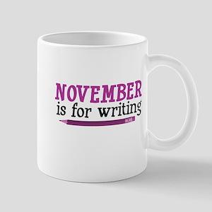 November is for Writing Mug