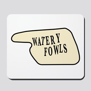 Watery Fowls Mousepad