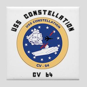 USS Constellation CV-64 Tile Coaster