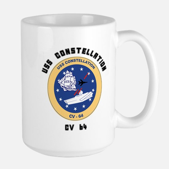 USS Constellation CV-64 Large Mug