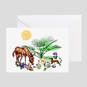 Animal Picnic Greeting Card
