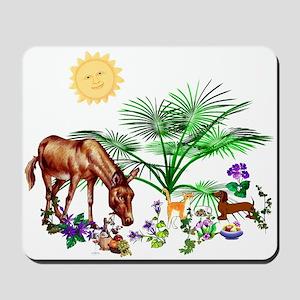 Animal Picnic Mousepad
