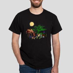 Animal Picnic Dark T-Shirt