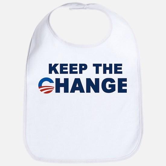 Keep Change Anti-Obama Bib
