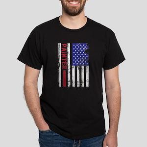 Painter US FLag T-Shirt