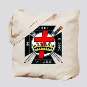 Knight of the Temple Tote Bag