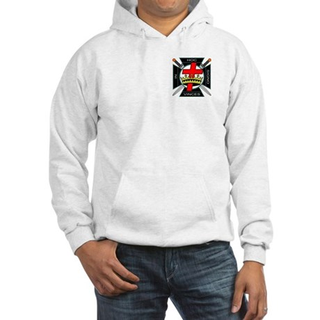 Knight of the Temple Hooded Sweatshirt