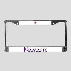Hearts and Vines License Plate Frame