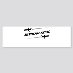 JETROSEXUAL Bumper Sticker