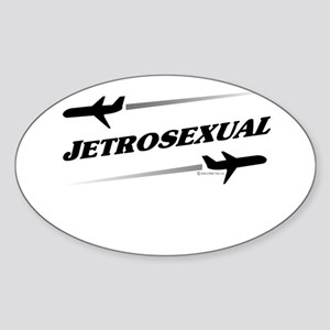 JETROSEXUAL Oval Sticker