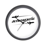 JETROSEXUAL Wall Clock
