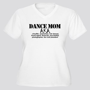 Dance Mom Women's Plus Size V-Neck T-Shirt