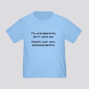 Accommodating Grandparents Toddler T-Shirt