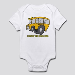 I Drive Cool Bus Infant Bodysuit