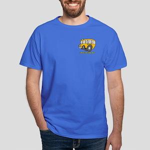 I Drive Cool Bus Dark T-Shirt