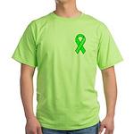 Lyme Awareness Lime-Green T-Shirt
