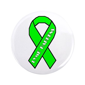 "Lyme Disease Awareness 3.5"" Button (100 pack)"
