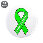 "Lyme Disease Awareness 3.5"" Button (10 pack)"