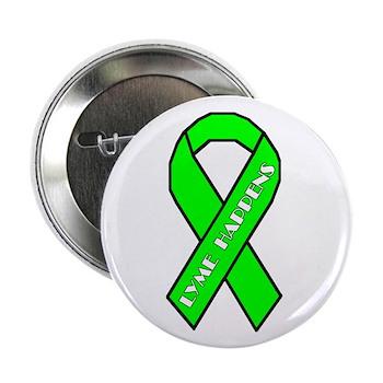 "Lyme Awareness 2.25"" Button (100 pack)"