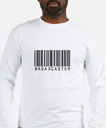 Broadcaster Barcode Long Sleeve T-Shirt