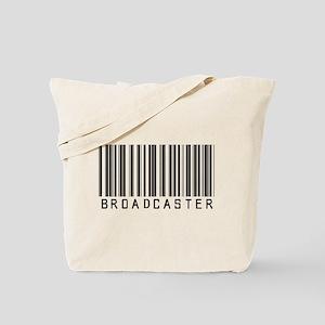 Broadcaster Barcode Tote Bag