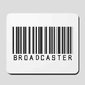Broadcaster Barcode Mousepad