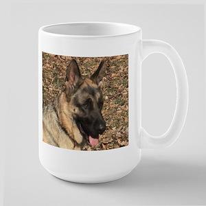 Beautiful AKC German Shepherd Large Mug, elpace