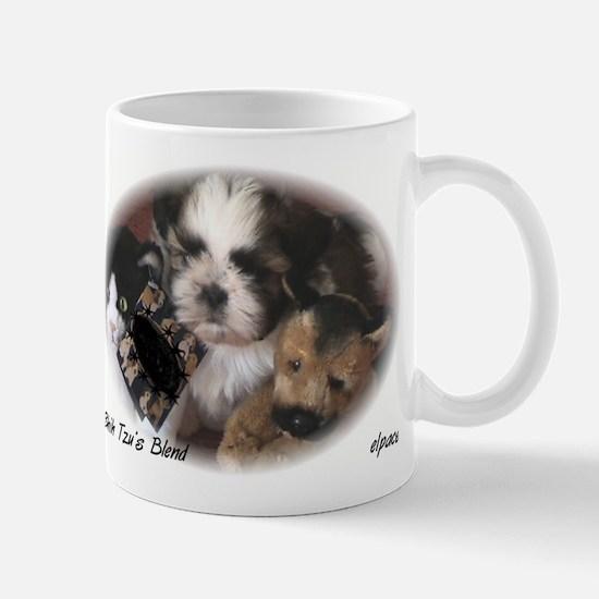 Shih Tzu Puppy small mug collection, elpace