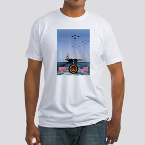 USS America CV-66 Fitted T-Shirt