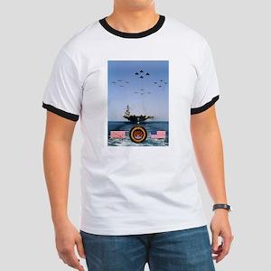 USS America CV-66 Ringer T