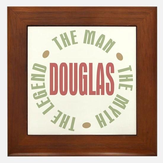 Douglas Man Myth Legend Framed Tile