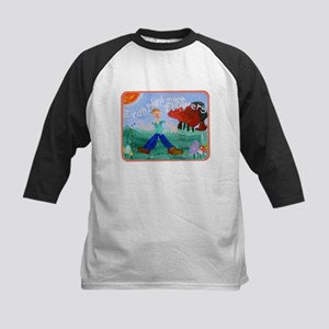 Plant Flowers Kids Baseball Jersey