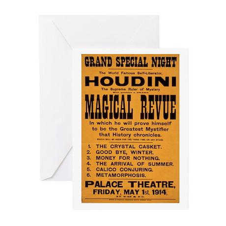 Houdini Magical Revue Greeting Cards (Pk of 20)