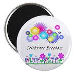 Celebrate Freedom Magnet