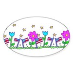 Celebrate Freedom Sticker (oval)