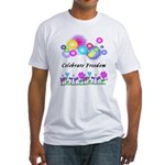 Celebrate Freedom Fitted T-Shirt