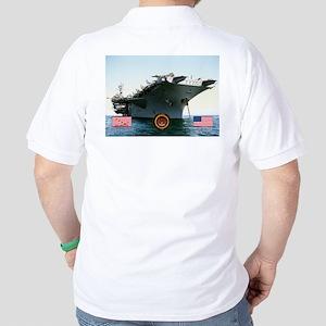 USS America CV-66 Golf Shirt