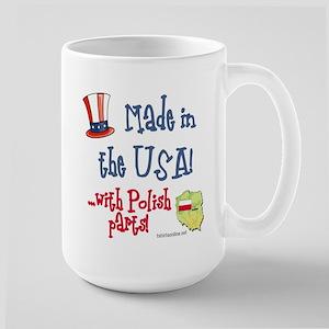 Polish Parts Large Mug